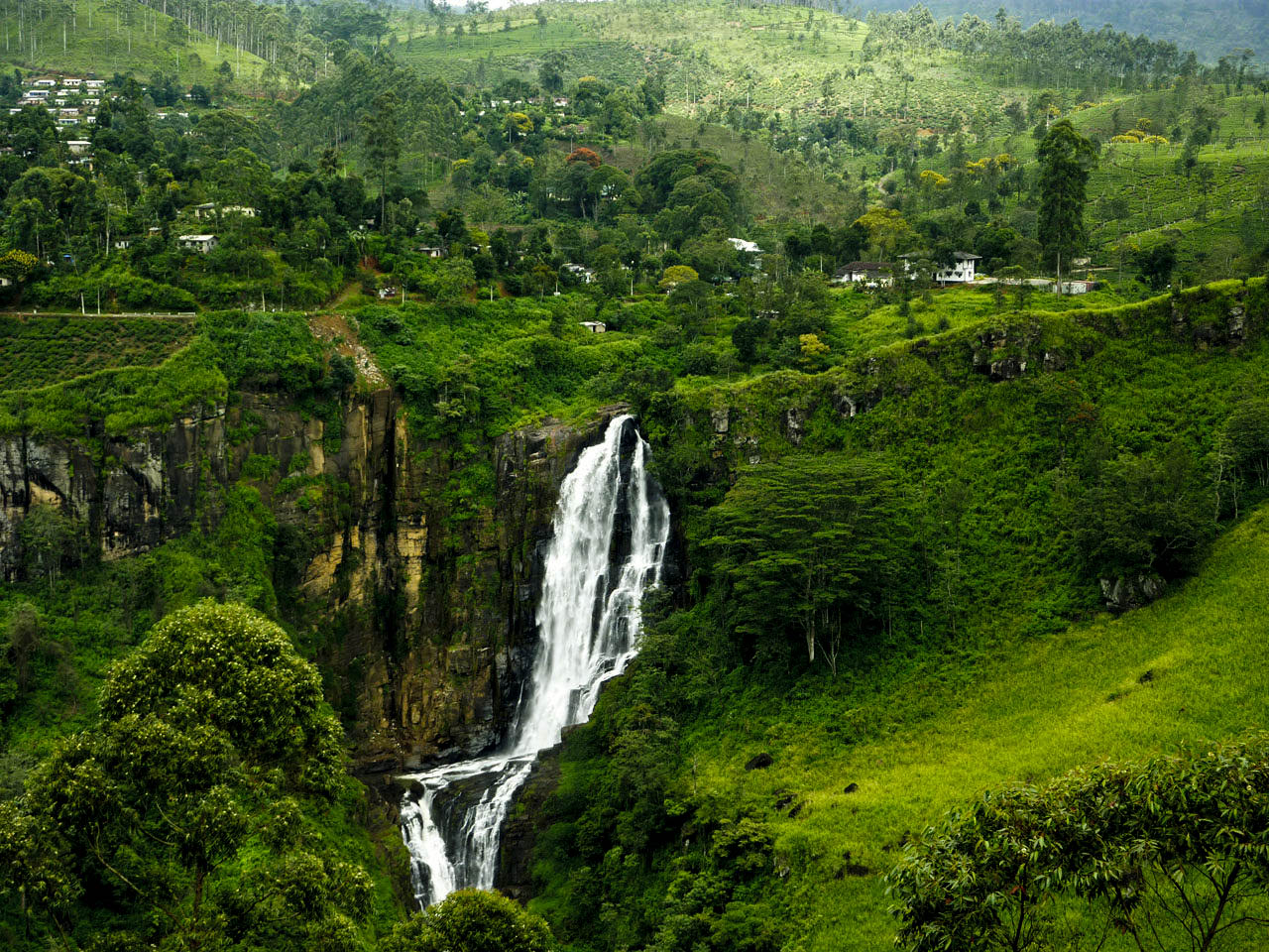 Sri Lanka Waterfalls